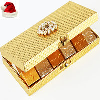 Christmas Gifts Chocolates -Golden Mix Nuts Chocolate Box