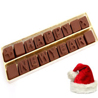Christmas Gifts Chocolates -Happy New Year Alphabets