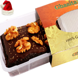 Chistmas Gifts - Chocolate Walnut Brownie