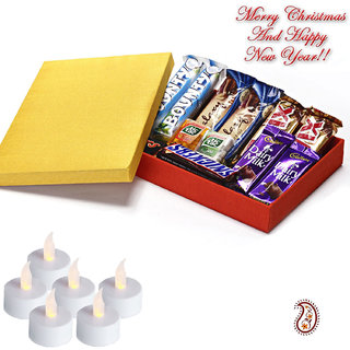 Assortment of Branded Chocolates Gift Box Christmas Hamper