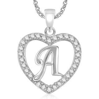 Meenaz Solitaire Pendant Locket With Chain For Girls Jewellery Sets Gifts PS468
