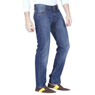 Lee Men's Blue Slim Fit Jeans