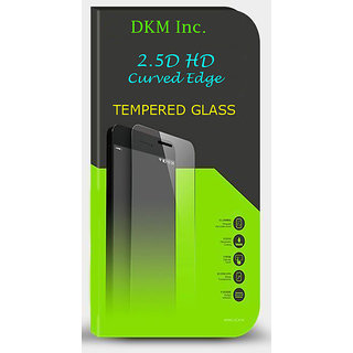 Snaptic 25D Curved Edge HD Tempered Glass for Lava X10