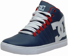 West Code Men Blue Lace-up Casual Shoes
