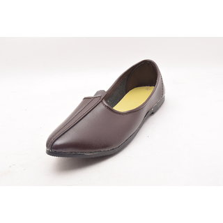 Bunkeys Mens Ethnic Footwear Brown (I057)