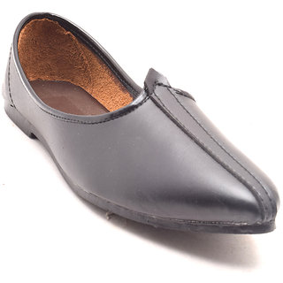Bunkeys Mens Ethnic Footwear Black (I058)