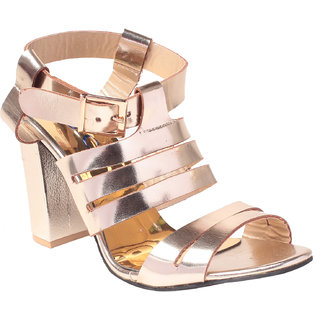 MSC Women's Gold Heels