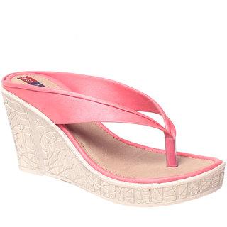 MSC Women's Pink Wedges
