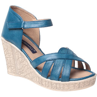 MSC Women's Blue Wedges