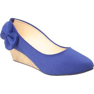 MSC Women's Blue Wedges