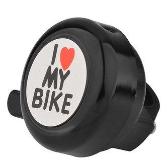 Futaba I Love My Bike Bicycle Bell - Black