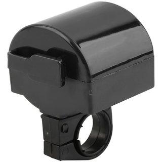 Futaba MTB Bicycle Electronic Bell Loud Horn   Black