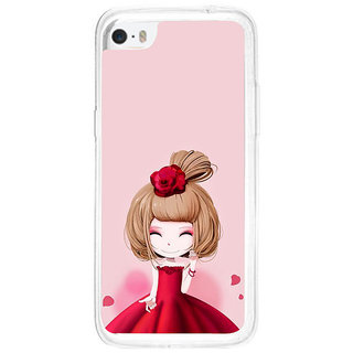 ifasho Princess Girl Back Case Cover for   5C