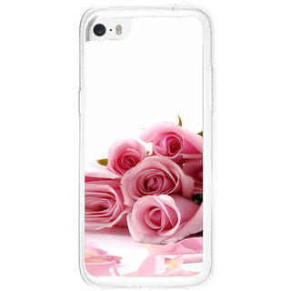 ifasho Red Rose bunch Back Case Cover for   5C