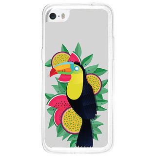 ifasho wood peacker Bird sitting animated design Back Case Cover for   5C