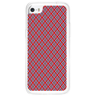 ifasho Colour Full Square Pattern Back Case Cover for   5C