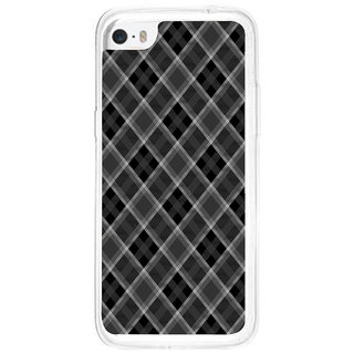 ifasho Design lines pattern and square pattern Back Case Cover for   5C