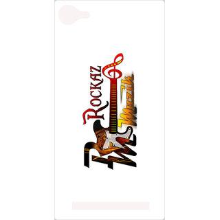 Amagav Printed Back Case Cover for Lyf Wind 1