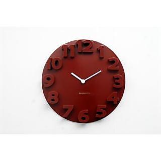 Blacksmith Lovely Raised Numbers 3D Clock