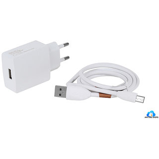 Micromax Canvas 2.2 A114   Compatible 2Ampere Android Charger By Anytiime Shops