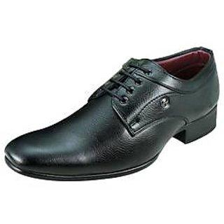Arrow Men Black Lace-up Formal Shoes