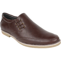 Guava Men Brown Lace-up Formal Shoes