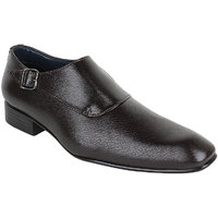 Guava Men Brown Slip On Formal Shoes - 101652825
