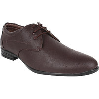 Hirolas Men Brown Lace-up Formal Shoes
