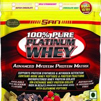 SAN 100 Pure Platinum Whey Dutch Chocolate 10 Lbs