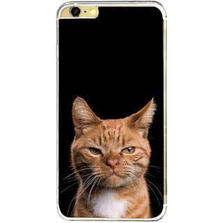 ifasho Brown cat Back Case Cover for   6