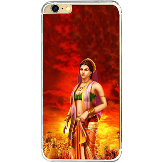 ifasho Draupadi Mahabharat Back Case Cover for   6