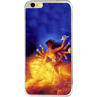 ifasho Godess Durga Back Case Cover for   6