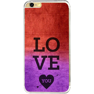 ifasho love you quotes Back Case Cover for   6
