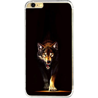 ifasho Angry Wolf Back Case Cover for   6