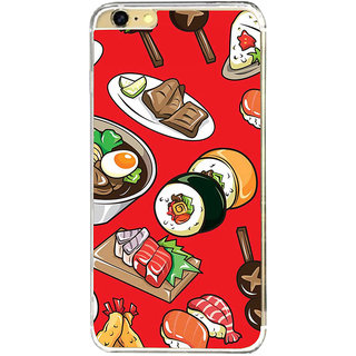 ifasho Animated food pattern Back Case Cover for   6