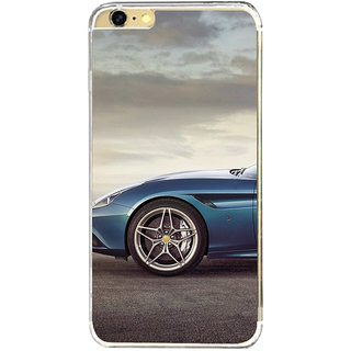 ifasho Red Stylish Car from back side Back Case Cover for   6