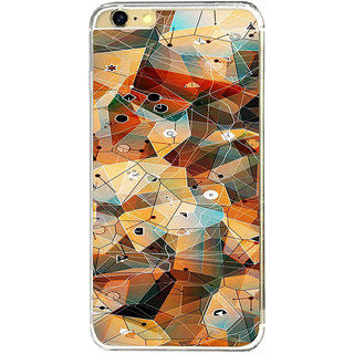 ifasho Modern Theme of royal design in colorful pattern Back Case Cover for   6