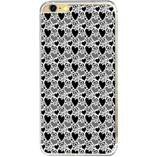 ifasho Modern Art Design Pattern with Lot Of small heart Back Case Cover for   6