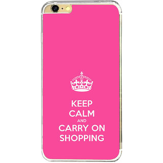 ifasho Nice Quote On Keep Calm Back Case Cover for   6