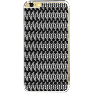 ifasho Animated Pattern design black and white diamond in royal style Back Case Cover for   6