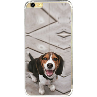 ifasho Grey Dog Back Case Cover for   6