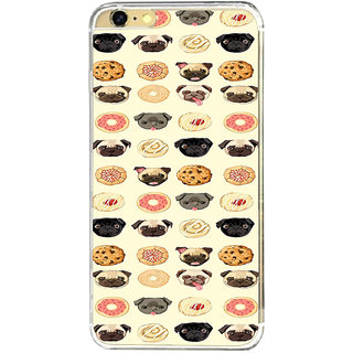 ifasho Animated Pattern dogs head and cookies Back Case Cover for   6