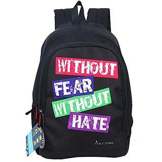 Polestar Vibe Black Casual College Backpack Bag