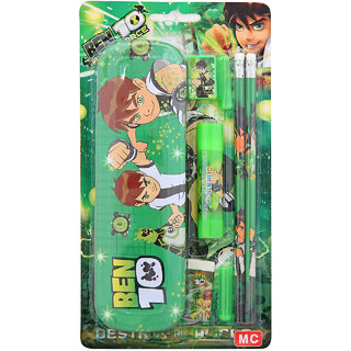 BEN 10 KIDS PENCIL BOX GREEN