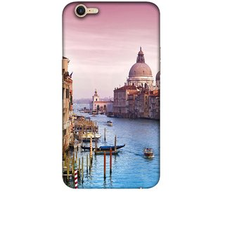 Casotec Venice Design 3D Printed Hard Back Case Cover for OPPO A39
