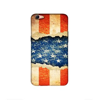Casotec Sports Flag Pattern Design 3D Printed Hard Back Case Cover for Oppo R9s