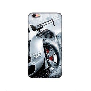 Casotec Drift Sport Print Design 3D Printed Hard Back Case Cover for Oppo R9s Plus