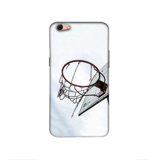 Casotec Basketball Ring Design 3D Printed Hard Back Case Cover for Oppo R9s Plus