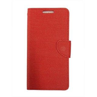 Colorcase Flip Cover Case for Swipe Elite 2 Plus - (Red)