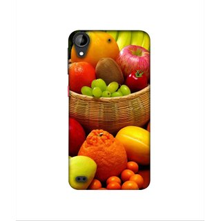 Casotec Fruit Basket Design 3D Printed Hard Back Case Cover for HTC Desire 630
